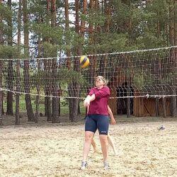В гостях волейбольная команда «Славяночка»